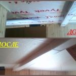 потолок из панелей