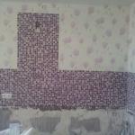 фартук из мозайки
