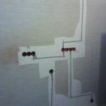штробление в стене под проводку