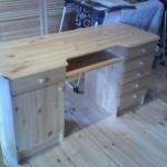 сборка стола из дерева