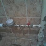 установка счетчика на горячую воду