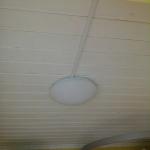 установка люстры потолочной